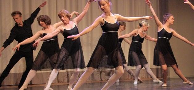 Ballett bei der Tanzwerkstatt Kassel