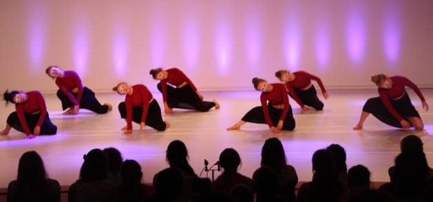 Contemporaray Tanz bei der Tanzwerkstatt Kassel
