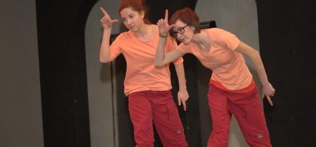 Streetdance bei der Tanzwerkstatt Kassel
