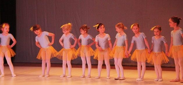 Tanzen für Kinder bei der Tanzwerkstatt Kassel